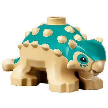 Minifigure Lego® Jurassic World - Dinosaur Ankylosaurus