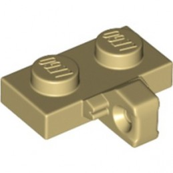 LEGO 6340222 PLATE 1X2 W. STUB/VERTICAL - TAN