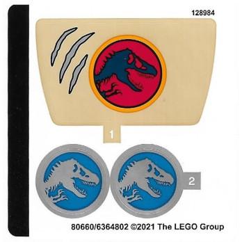 Stickers Lego® Jurassic World 76941