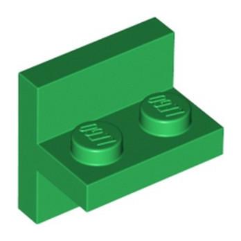 LEGO 6352550 BRICK 1X2 W/ VERTICAL TUBE - DARK GREEN