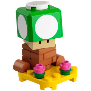Minifigure LEGO® SUPER MARIO™ 1-Up Mushroom