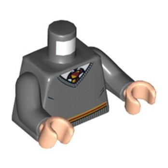 LEGO 6236205 TORSO HARRY POTTER - DARK STONE GREY