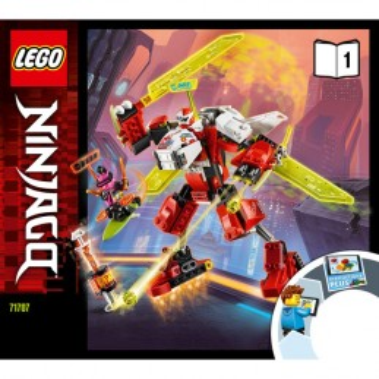 Instruction Lego® Ninjago - 71707