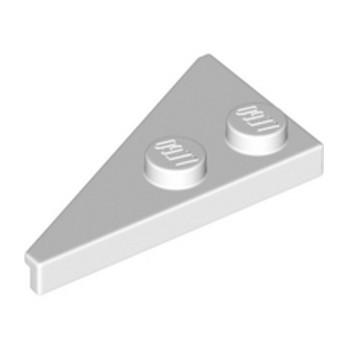 LEGO 6354822 RIGHTPLATE 2X4, DEG. 27 - WHITE