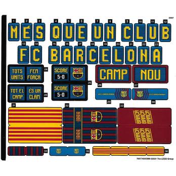 Stickers CREATOR Le Camp Nou - FC Barcelone - 10284