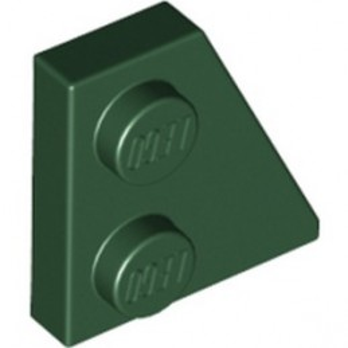 LEGO 6304758 PLATE 2x2 27DEG RIGHT - EARTH GREEN
