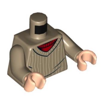 LEGO 6236668 TORSO PULL -SAND YELLOW