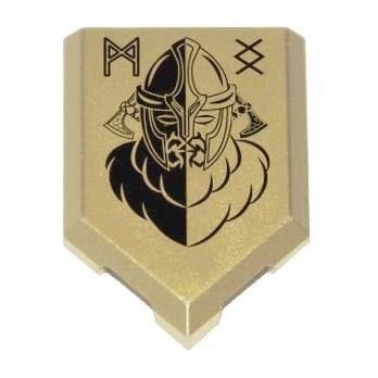 Viking Crest Shield printed...
