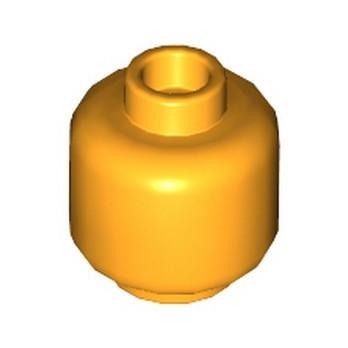 LEGO 6201587 MINI HEAD - FLAME YELLOWISH ORANGE