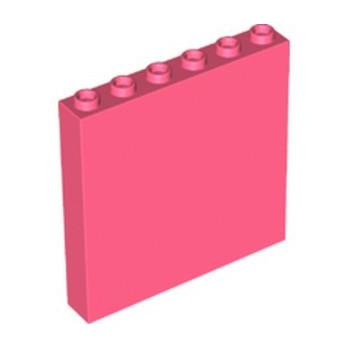 LEGO 6346492 WALL ELEMENT 1x6x5 - CORAL