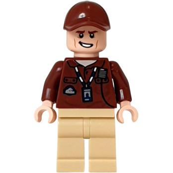 Minifigure Lego® Jurasic World - Park Worker