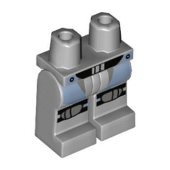 LEGO 6197182 NINJAGO PRINTED LEGS - MEDIUM STONE GREY