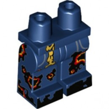 LEGO 6197121 PRINTED LEGS - EARTH BLUE