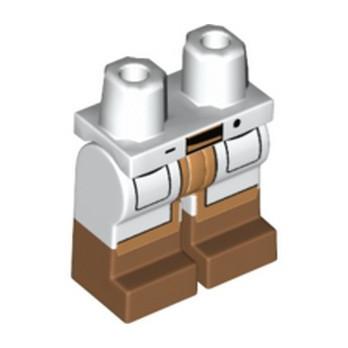LEGO 6197931 PRINTED LEGS - WHITE