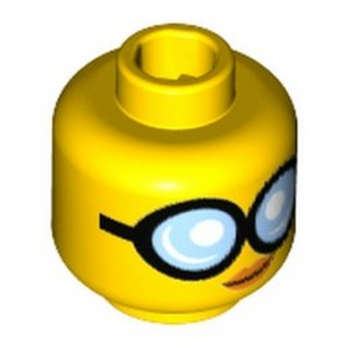 LEGO 6197306 WOMAN HEAD W/ GLASSES