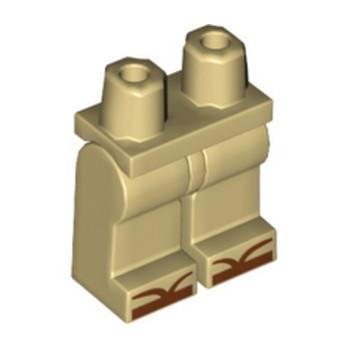 LEGO 6197116 PRINTED LEGS - TAN