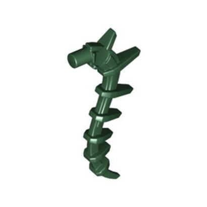LEGO 6369999 - TAIL Ø 3,2  - EARTH GREEN