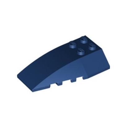 LEGO 6211394 BRICK 4X6 W/BOW/ANGLE - EARTH BLUE