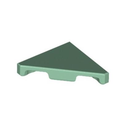 LEGO 6262238 FLAT TILE 2X2 45° - SAND GREEN
