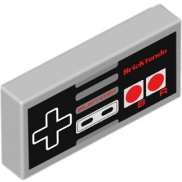 Console controller printed on Lego® Brick 1X2