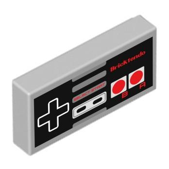 Controller della console stampato su Lego® Brick 1X2