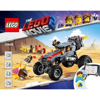 Notice / Instruction Lego® THE LEGO MOVIE 2 - 70829