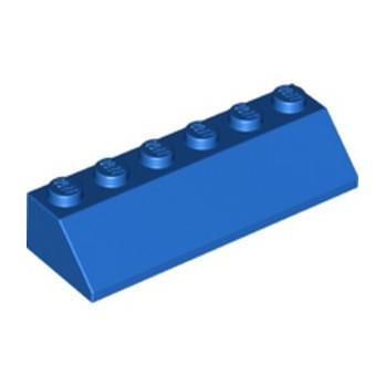 LEGO 6253010 ROOF TILE 2X6 45 DEG. - BLUE