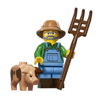 Figurine Lego® Serie 15 : FERMIER