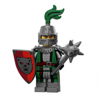 Figurine Lego® Serie 15 : CHEVALIER DE L'EFFROI