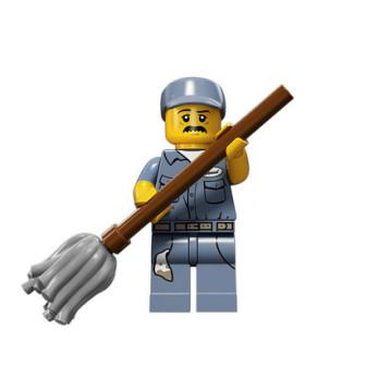 Figurine Lego® Serie 15 : NETTOYEUR
