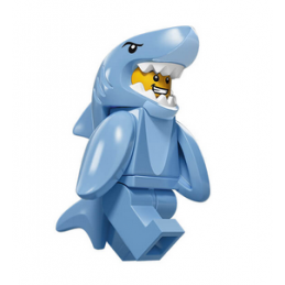 Figurine Lego® Serie 15 : HOMME-REQUIN