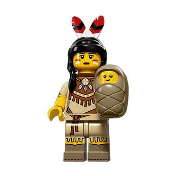Figurine Lego® Serie 15 : FEMME TRIBALE