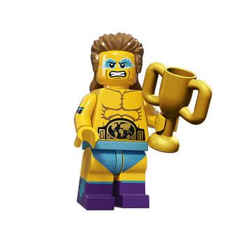 Figurine Lego® Serie 15 : CHAMPION DE LUTTE