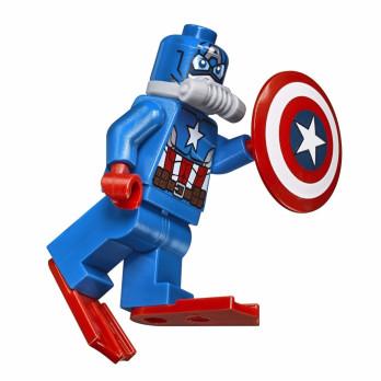 Figurine Lego® Marvel Super heroes - Scuba Captain America