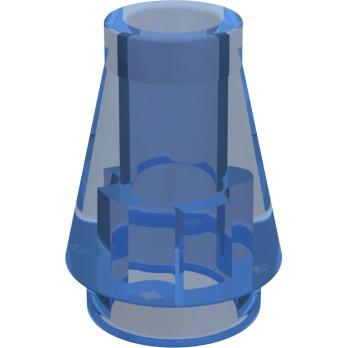 LEGO 618843 CONE 1X1 - BLEU FONCE TRANSPARENT lego-618843-cone-1x1-bleu-fonce-transparent ici :