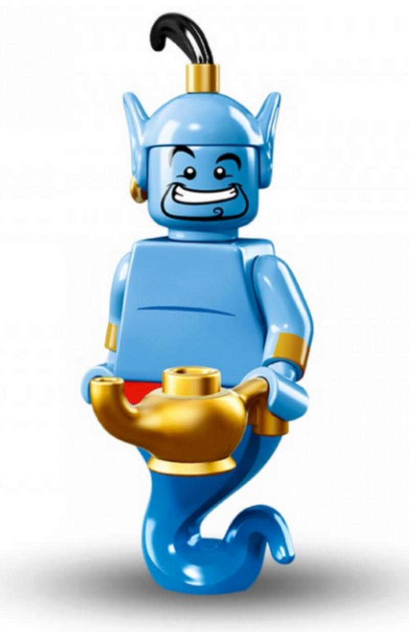 figurine lego® serie disney : le génie de la lampe - briquestore