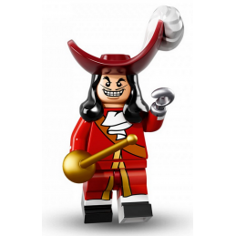 Figurine Lego® Serie Disney : Capitaine Crochet