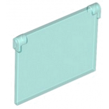 LEGO 6013633 GLASS FOR FRAME 1X4X3 - Bleu Transarent