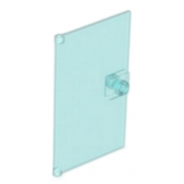4520866 	GLASS DOOR FOR FRAME 1X4X6 - Tr. Light Blue