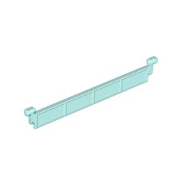 LEGO 4188323 LAMELLE PORTE SECTIONNELLE - BLEU TRANSPARENT