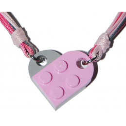 Collier Brique Lego - Cordon 3 Couleurs