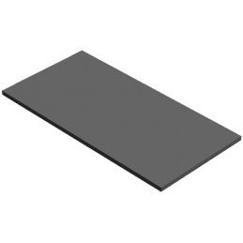 LEGO 4596898 PLATE LISSE 8X16 - DARK STONE GREY