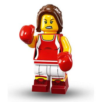 Figurine Lego® Serie 16 - Championne de Boxe
