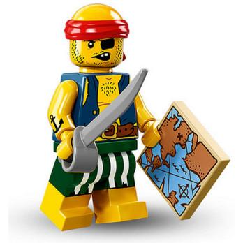 Figurine Lego® Serie 16 - Pirate