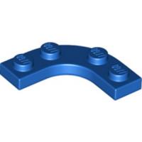 Plate 3X3, 1/4 CIRCLE