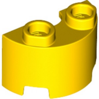 WALL ½ CIRCLE, 1X2, W/ 4.85 HOLE