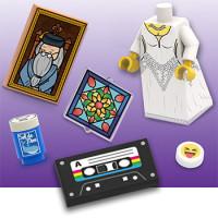 Impression UV sur pièce Lego