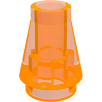 182 - TRANSPARENT ORANGE